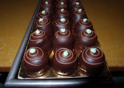 Pistache-marsepein-bonbon
