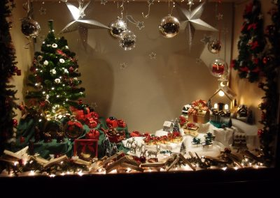 Kerst etalage 2018 bonbon atelier westerbeek den haag