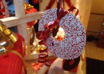 Musket krans voor in de Kerstboom