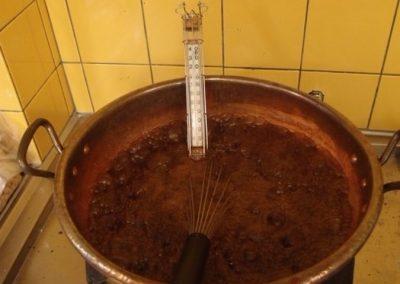 Chocolade Roomborstplaat koken